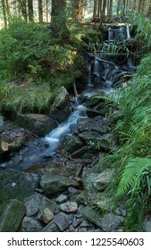 Small waterfall in Bohemia Forest