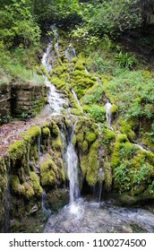 Small waterfall in Northern Italy