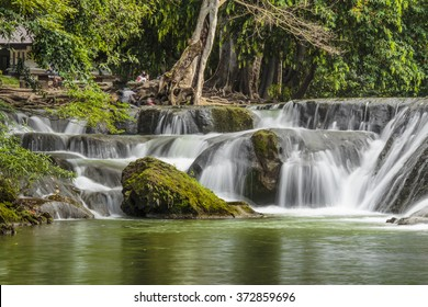 Small waterfall in Saraburi place for relaxation