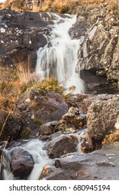 Small waterfall taken in the Scottish Highlands