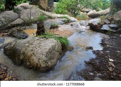 small watter falls at Purulia West Bengal India, Landscape at Purulia