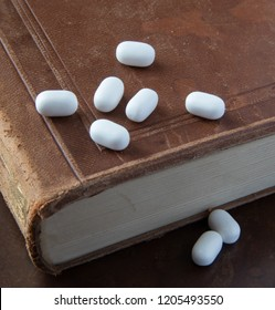 Small white pills