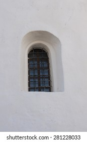 Small window of the old medieval prison