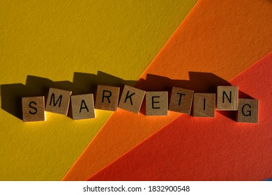 Smarketing, buzzword, a combination of Sales and Marketing