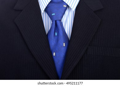 Smart businessman in business suit and tie