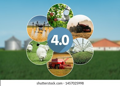 Digital Agriculture Icons Images, Stock Photos & Vectors | Shutterstock