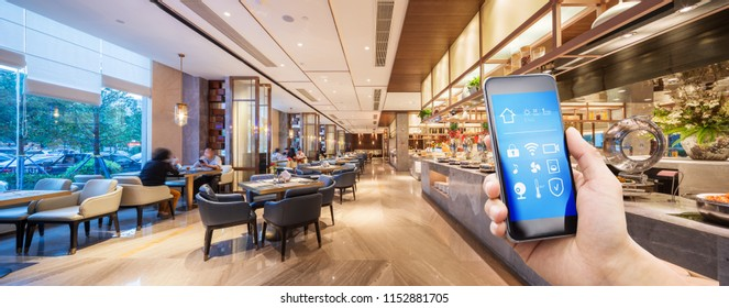smart home in chinese restaurant