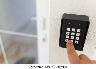 Smart home keyboard password entrance