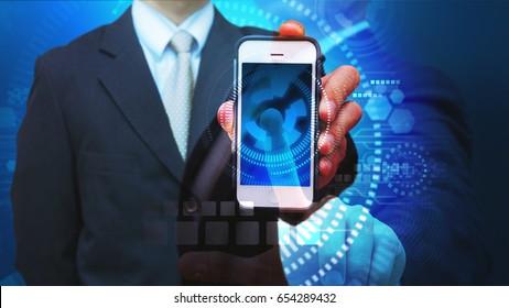 Smart phone for communication