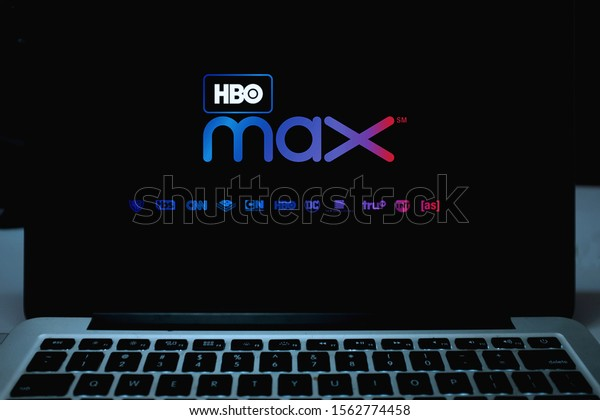 Smart phone with the HBO Max logo is an upcoming video on demand internet service. Sunday, November 17, 2019, New York, United States.