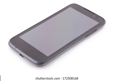 Smart Phone isolated on white. Two clipping path inside separately for PDA and screen.