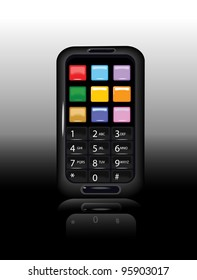 Smart Phone with Keypad