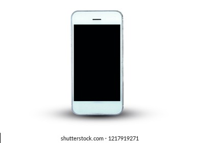 Smart phone or Mobile phone on white background