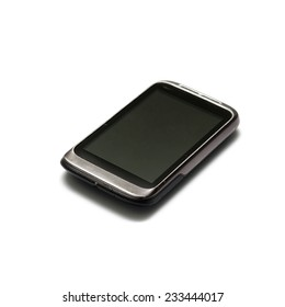 smart phone on a white background