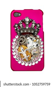 smart phone protective case with diamonds and bling
