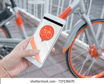 Smart phone and shared bikes