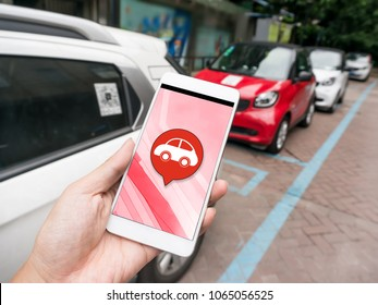 Smart phone and sharing car