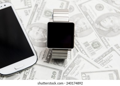Smart phones and watches, electronic payment