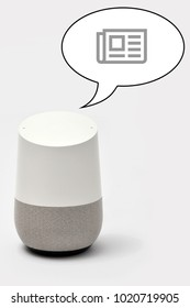 Smart Speaker for news