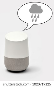 Smart Speaker weather forecast