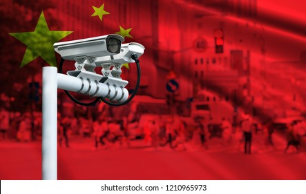 Smart surveillance cameras help automatically track identify almost every move in China.