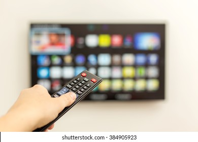 Smart TV switches to the man.