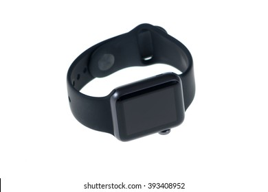 Smart watch isolated on a white background