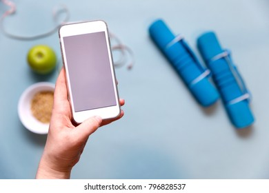 Smartphone app for sport workout, home training