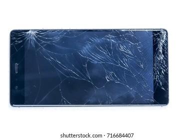 smartphone  Broken screen