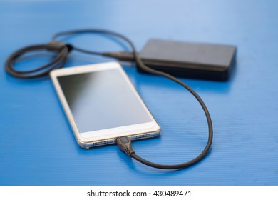 Smartphone Charging from Power Bank