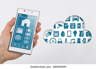 Smartphone internet of things cloud