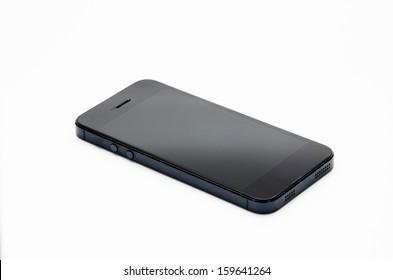 Smartphone isolated on white background