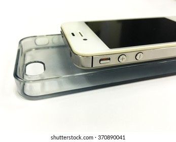 Smartphone on the case