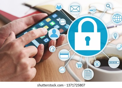 Smartphone security system and protection of personal data.