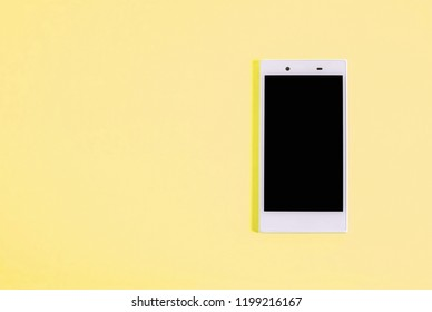smartphone. Simple pattern. Color variations.