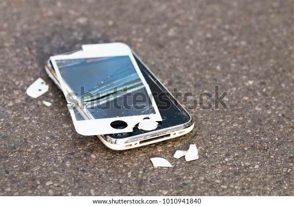 Image result for images of smashed cellphone