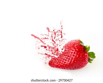 Smashing strawberry
