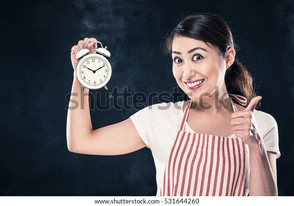 Smile housewife and time management