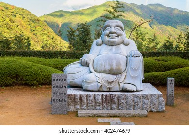 Smile Kensenen Buddha, in Seiganto-ji temple, Wakayama, Japan