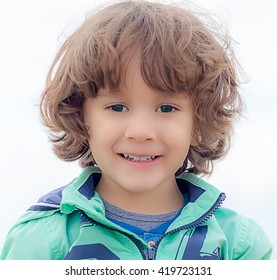 Smile of a little kid