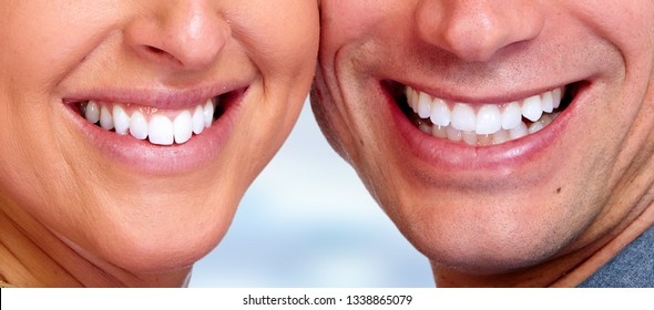 smile teeth close-up