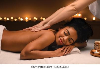 Massage Africain Images Photos Et Images Vectorielles De Stock Shutterstock