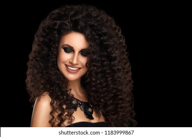 Black Curly Hair Images, Stock Photos & Vectors | Shutterstock