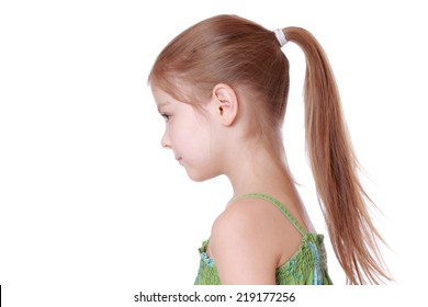 Pleasing Royalty Free Little Girl Ponytails Stock Images Photos Vectors Natural Hairstyles Runnerswayorg