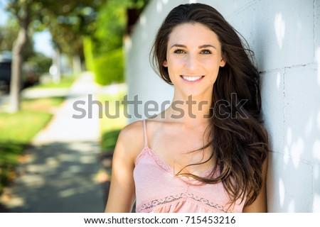 door Innocent girl next