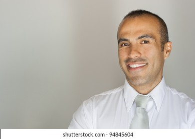 Smiling Handsome Latin Guy in tie