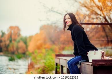 Smiling happy girl portrait