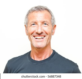 Smiling man portrait