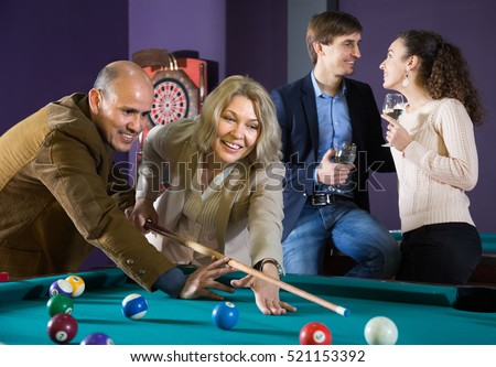 Game mature couple