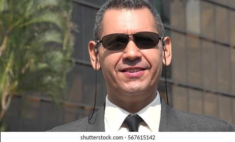 Smiling Older Business Man